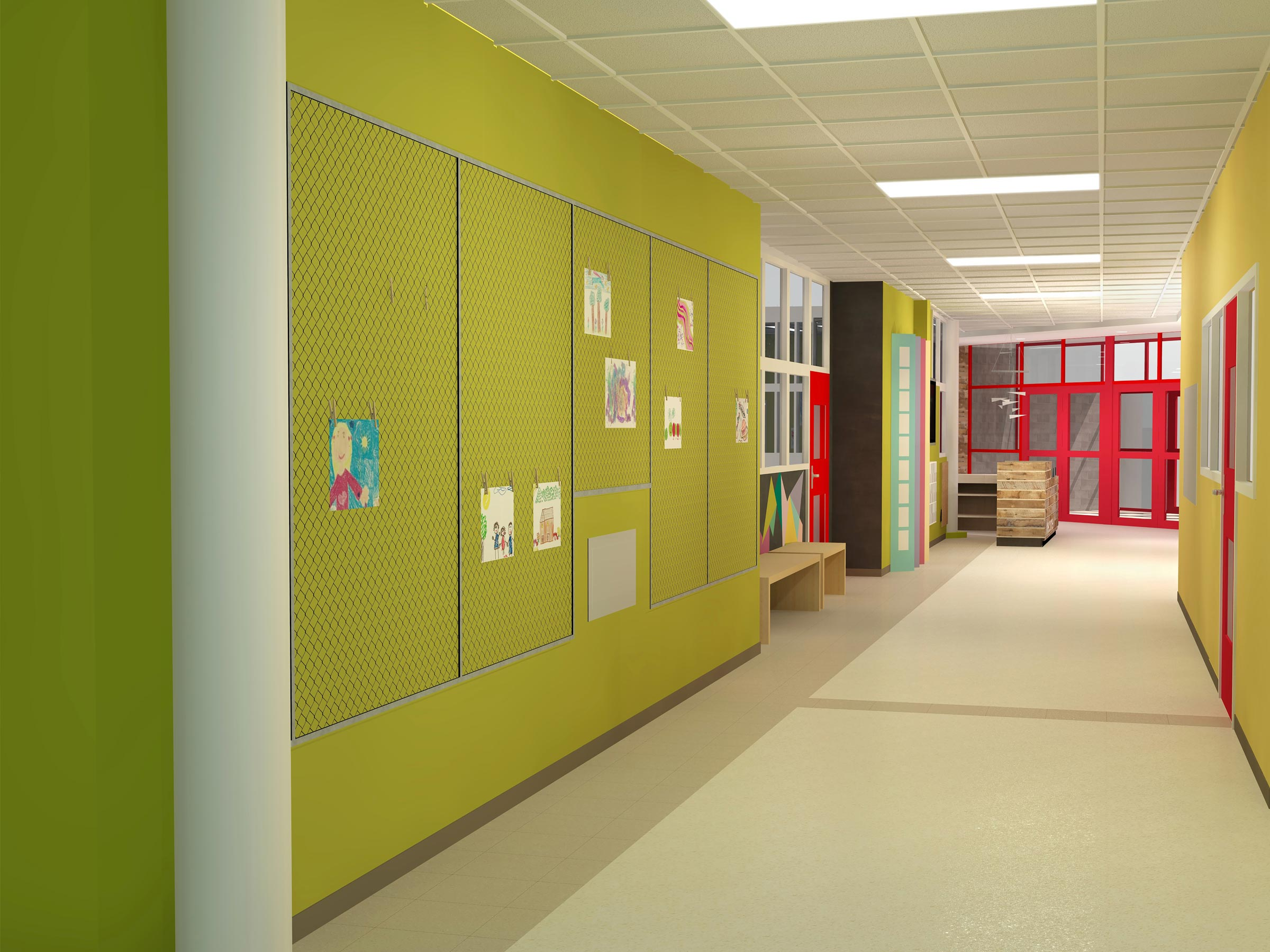 La Roche Design Division Interior Design Students Redesign School Entry