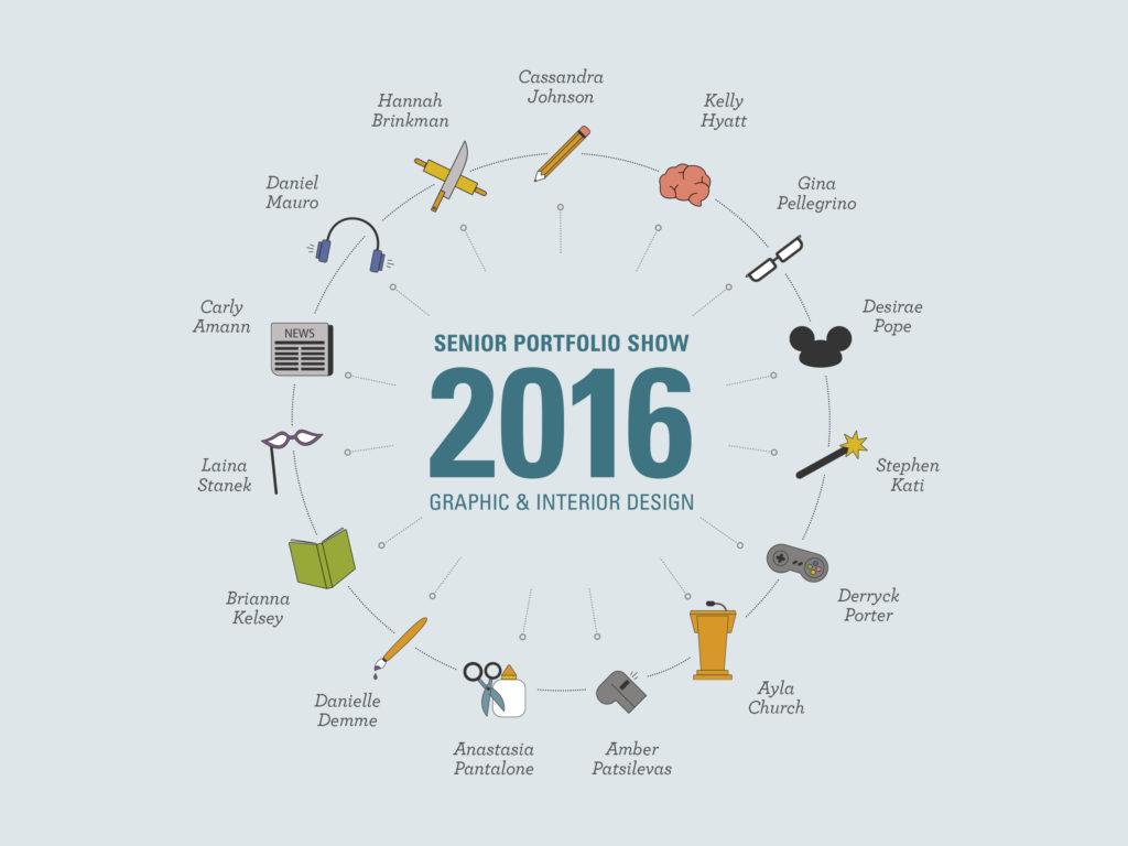 Senior Portfolio Show 2016