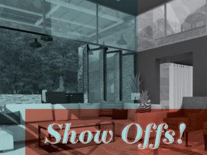 Show Offs! Graphic and Interior Design Senior Portfolio Show
